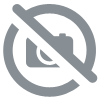 Porte-monnaie rond Boston Terrier Fluff